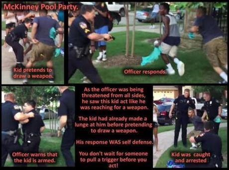 What really happened. Yeah, that Black ghetto punk deserved to get that gun pulled on him all right. Give that officer a medal!