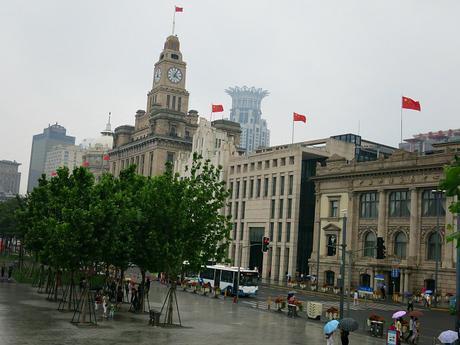 Shanghai colonial buildings