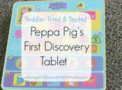 Toddler Tried Tested: Peppa Pig's First Discovery Tablet from Toys