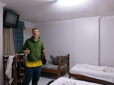 Backpacking in Belem - Staying at the Hotel Unidos in Belem.