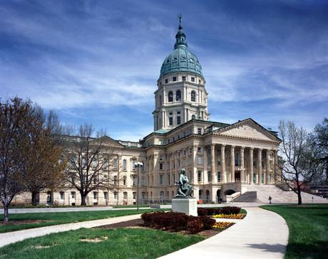 Photo of Kansas State Capitol Building