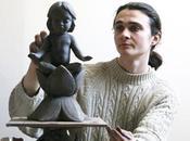 Sublime Sculptures Alexey Leonov, Great Messenger Beauty