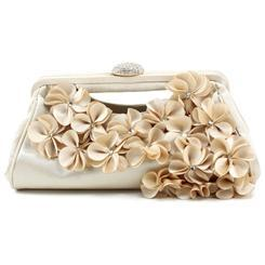 Ericdress Amazing Floral Embellished Evening Clutch