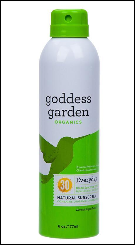 goddess garden, safe sunscreen, savvy brown