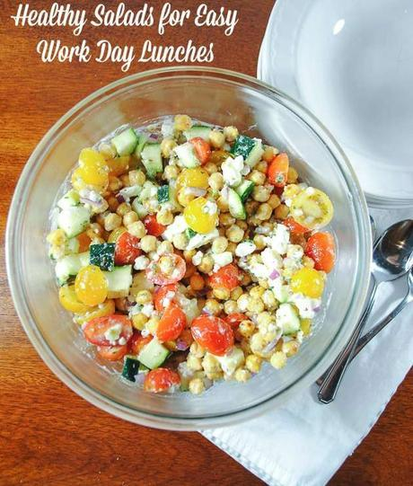 Make-Ahead Healthy Salads for Easy Work Day Lunches
