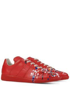 Accidents Happen...Beautifully!:  Maison Martin Margiela 22 Low Top Trainers