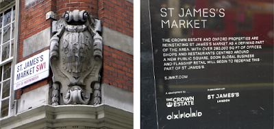 St James's Market, Piccadilly, SW1