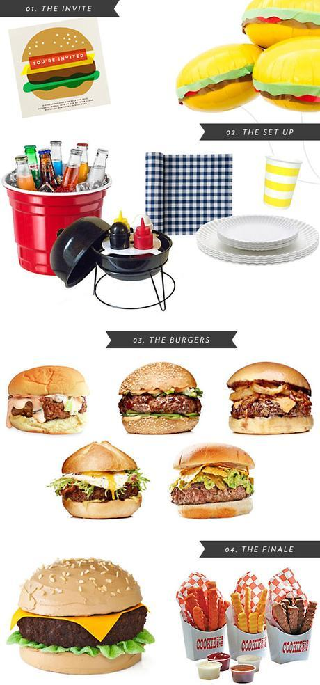 burger bash party inspiration