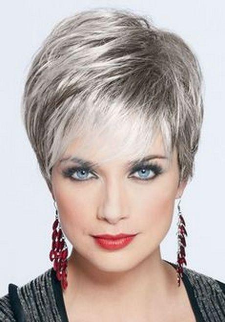 Stupendous Very Short Hairstyles For Round Face Females Cute Looks Paperblog Short Hairstyles Gunalazisus