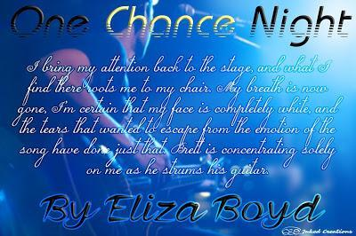 One Chance Night by Eliza Boyd Blog Tour (Guest Post & Review)