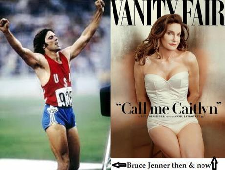 Bruce Jenner then & now
