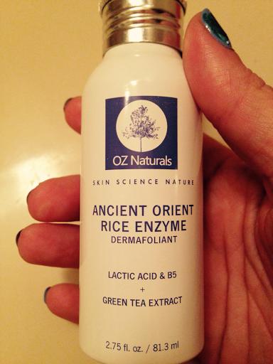 Oz naturals ancient orient rice enzyme