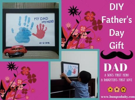 Father's Day DIY – Handprint Craft