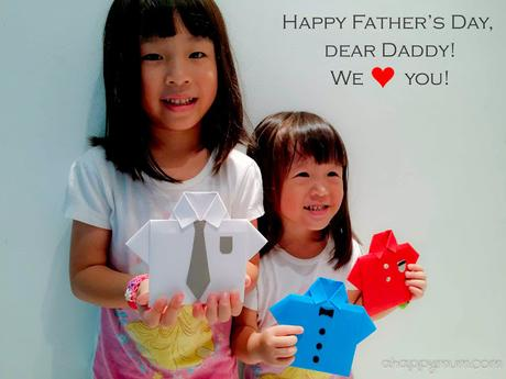 Creativity 521 #71 - DIY Shirt Card for Daddy {Happy Father's Day 2015}