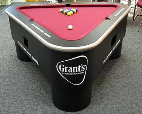 top 10 crazy and unusual shaped pool tables - paperblog