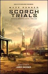 Maze Runner: The Scorch Trials Official Graphic Novel Prelude Cover