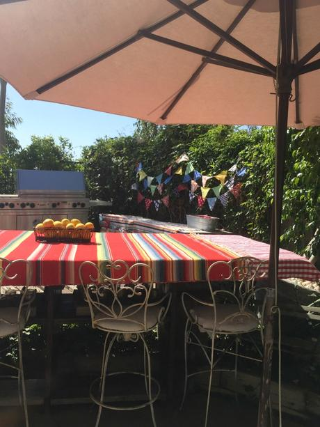 Father's Day Backyard Barbecue … SoCal Style