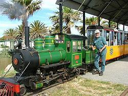 SEMAPHORE AND FORT GLANVILLE TOURIST RAILWAY. Image from their website.