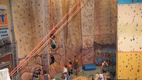 The Rock - Darwin's Indoor Climbing Centre. Image from Travel NT's Website.
