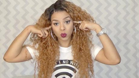 Outre Peruvian Batik L-Part Lace Front Wig review youtube, african american wigs, lace front wig reviews