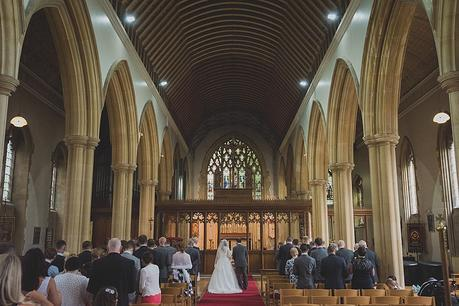 St Aldhelm's Branksome Wedding ceremony