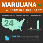 Marijuana Dispensaries Growth Infographic