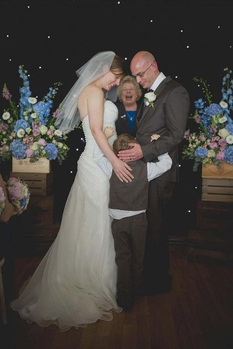 Pronounced husband & wife