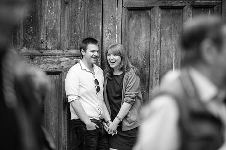 Engagement Shoot in Oxford Queens Lane