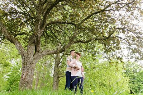 Engagement photography in Ilkley
