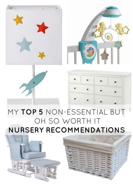 My Top 5 Non-Essential, But Oh-So-Worth-It Nursery Recommendations