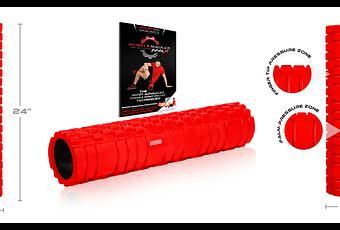 best foam roller for revolutionary muscle massage muscle mauler max paperblog. Black Bedroom Furniture Sets. Home Design Ideas