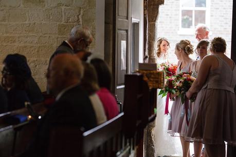 Wedding photography at St. Denys Church
