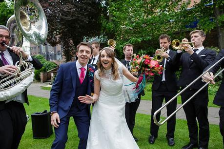 York Wedding Photography with The New York Brass Band