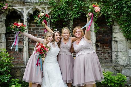 Fun Wedding Photography at Merchant Adventurers Hall