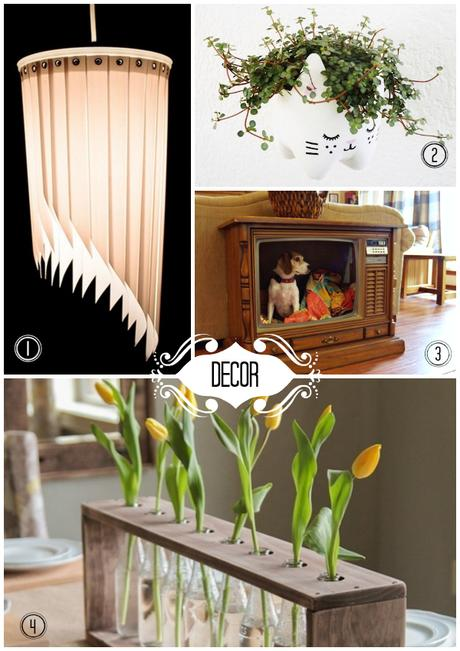 Here are some fun upcycle ideas for your decor this summr from Savvy Brown!