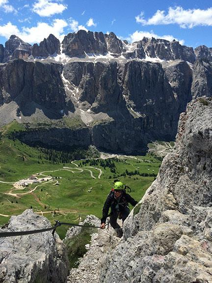 Hiking and Climbing in the Italian Dolomites