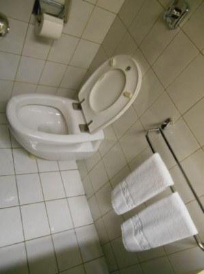 a toilet in north korea pyongyang