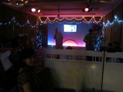 Karaoke Bar in Pyongyang's Yanggakdo Hotel