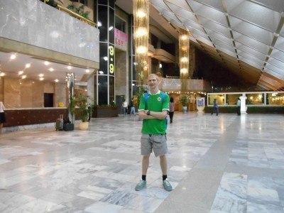 Staying at the Yanggakdo Hotel in Pyongyang, North Korea