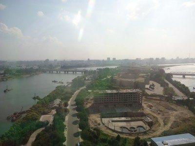 Yangak Island from the 24th floor