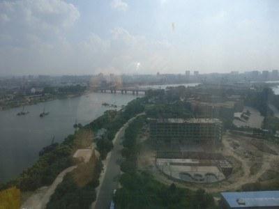 Yanggak Island from the hotel lift