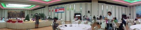 The main dining hall/restaurant