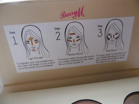 Barry M Contour kit guide