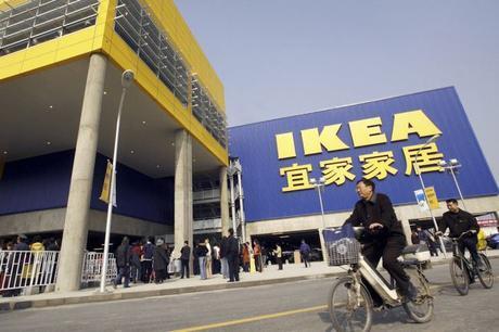 Ikea comes to Xi'an