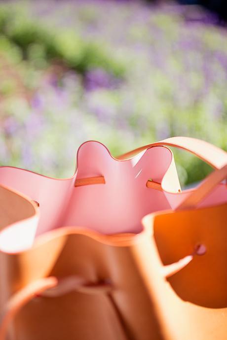 mansur gavriel bucket bag cammello rosa, review