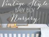 Vintage Style Baby Nursery Reveal