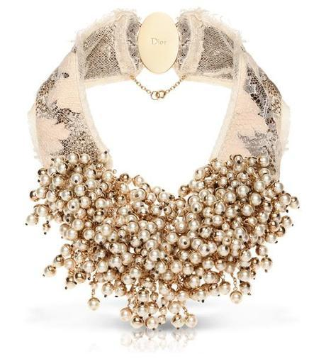 Dior Pearl necklace