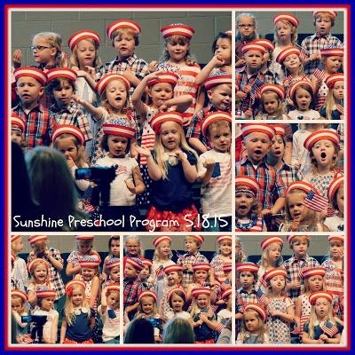 * Sunshine Preschool Year End