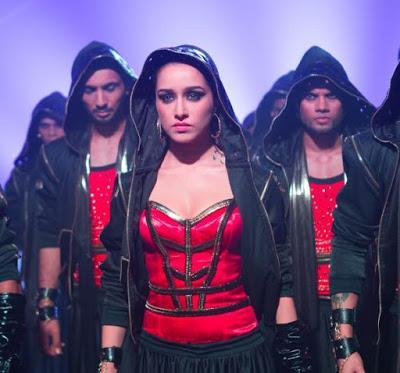 Shraddha Kapoor's makeup in ABCD2 : Bezubaan Bewitched