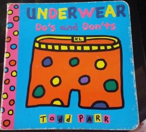 (Book Review) Toddler board books review: Underwear Do's and Don't and Let's Play Outside